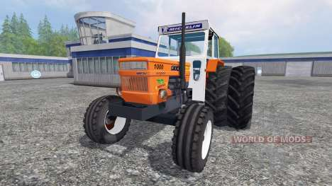 Fiat 1000 super v1.2 pour Farming Simulator 2015