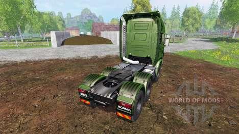 Scania R730 [euro farm] v1.5 pour Farming Simulator 2015