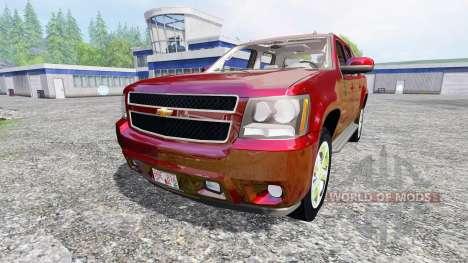 Chevrolet Avalanche pour Farming Simulator 2015