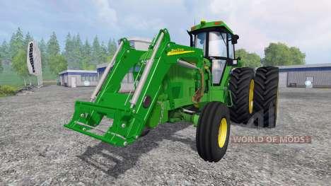 John Deere 4960 2WD FL pour Farming Simulator 2015