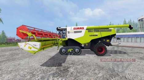 CLAAS Lexion 780TT [century edition] v2.0 pour Farming Simulator 2015