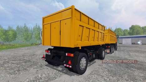 MAZ-6501 [trailer] für Farming Simulator 2015