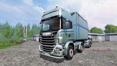 Scania R730 [bruks] v1.1.1 für Farming Simulator 2015