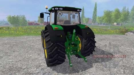 John Deere 6210R v1.0 pour Farming Simulator 2015