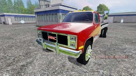 GMC 3500 1986 pour Farming Simulator 2015