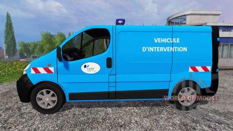 Renault Trafic [urgence gaz] pour Farming Simulator 2015