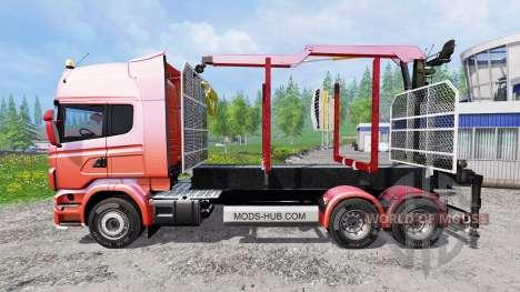 Scania R730 [forest] v1.2 pour Farming Simulator 2015