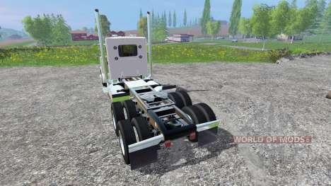 Peterbilt 379 2007 [daycab] v2.0 pour Farming Simulator 2015