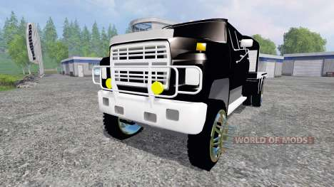 Ford F-650 [flatbed] für Farming Simulator 2015