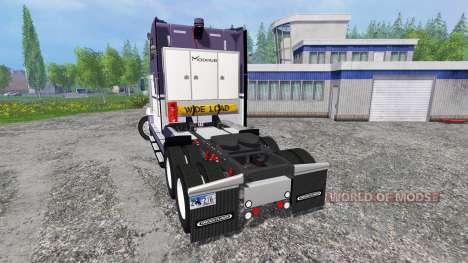Freightliner FLD120 pour Farming Simulator 2015