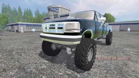 Ford F-250 [diesel] für Farming Simulator 2015
