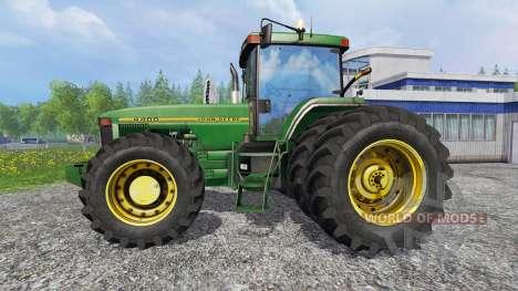 John Deere 8400 [American] pour Farming Simulator 2015