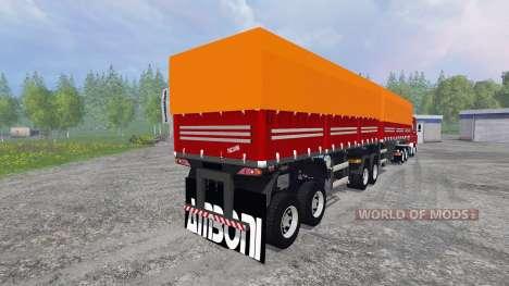 Scania 143 Frontal für Farming Simulator 2015