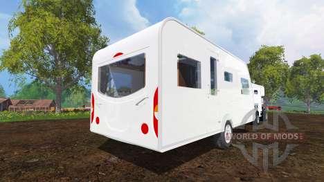 Camper pour Farming Simulator 2015