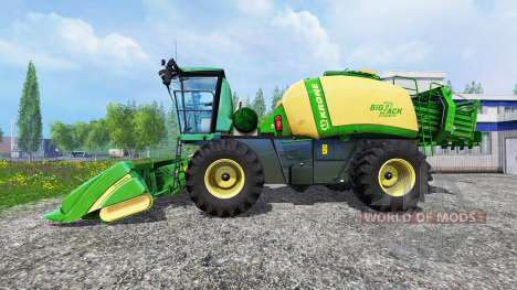 Krone Baler Prototype für Farming Simulator 2015