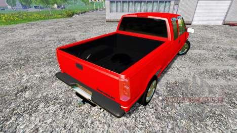 Chevrolet Silverado C1500 pour Farming Simulator 2015