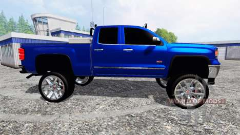 GMC Sierra 1500 2014 [lifted] pour Farming Simulator 2015