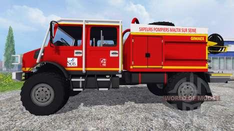 Mercedes-Benz Unimog [fire service] für Farming Simulator 2015