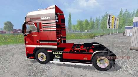 MAN TGX pour Farming Simulator 2015