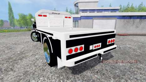 Ford F-650 [flatbed] pour Farming Simulator 2015
