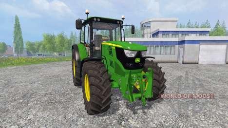 John Deere 6115M [pack] pour Farming Simulator 2015