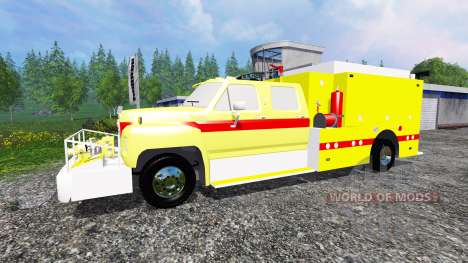Ford F-800 [fire truck] für Farming Simulator 2015