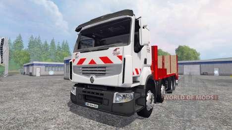 Renault Premium Lander [tow truck] pour Farming Simulator 2015