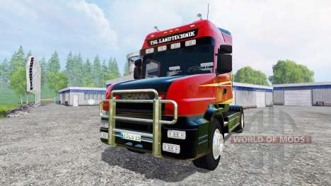 Scania T164 [two axial] pour Farming Simulator 2015