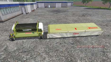 CLAAS EasyFlow300 and XDisc 6200 für Farming Simulator 2015