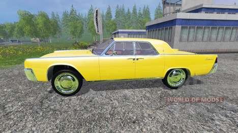 Lincoln Continental 1962 für Farming Simulator 2015
