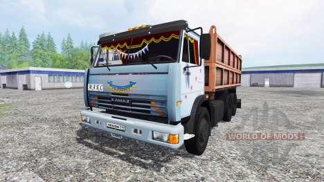 KamAZ-45143 v2.0 für Farming Simulator 2015