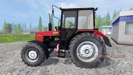 MTZ-Biélorussie 820.4 pour Farming Simulator 2015