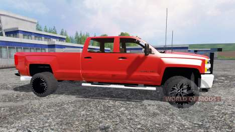 Chevrolet Silverado 3500 [plow truck] für Farming Simulator 2015