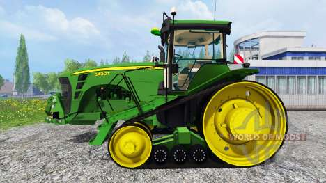 John Deere 8430T [European] v2.0 für Farming Simulator 2015