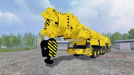 Liebherr LTM 11200 9.1 [Caterpillar] v2.0 pour Farming Simulator 2015