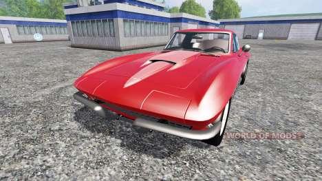 Chevrolet Corvette 1967 v1.1 für Farming Simulator 2015