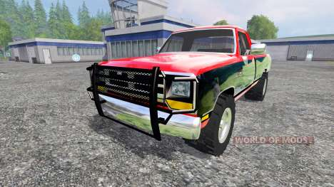 Dodge D-250 v1.1 pour Farming Simulator 2015