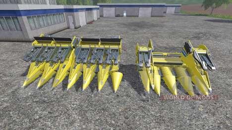 New Holland 980CF 6R and 980CF 12R pour Farming Simulator 2015