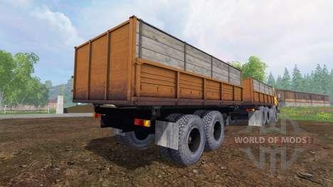 KamAZ-55102 v1.3 pour Farming Simulator 2015