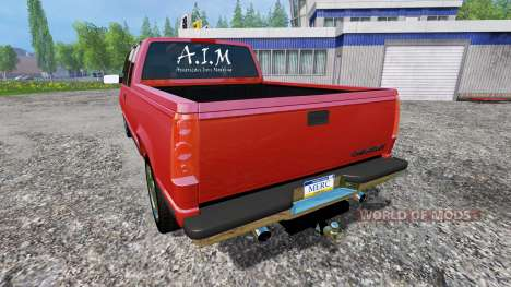 Chevrolet Silverado 1996 für Farming Simulator 2015