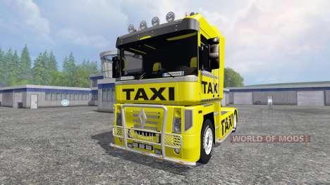 Renault Magnum [taxi] pour Farming Simulator 2015