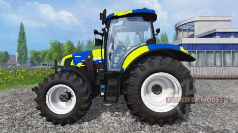 New Holland T6.160 Police für Farming Simulator 2015