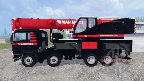 MAN TGX LFM1060 für Farming Simulator 2015