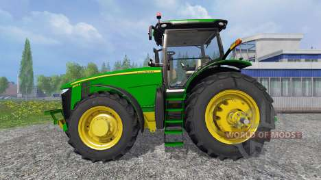 John Deere 8370R [Degelman silage blade] pour Farming Simulator 2015