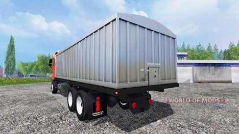 Freightliner Argosy [grain truck] pour Farming Simulator 2015