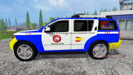 Nissan Pathfinder Police pour Farming Simulator 2015