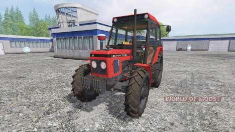 Zetor 7245 pour Farming Simulator 2015