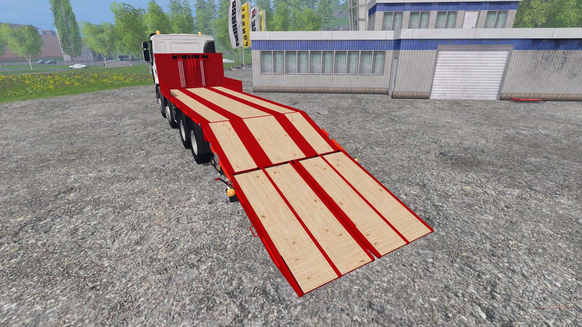 renault premium lander tow truck pour farming simulator 2015. Black Bedroom Furniture Sets. Home Design Ideas