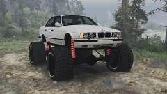 BMW M5 (E34) [bigfoot] v1.2 [16.12.15] pour Spin Tires