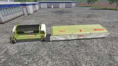 CLAAS EasyFlow300 and XDisc 6200
